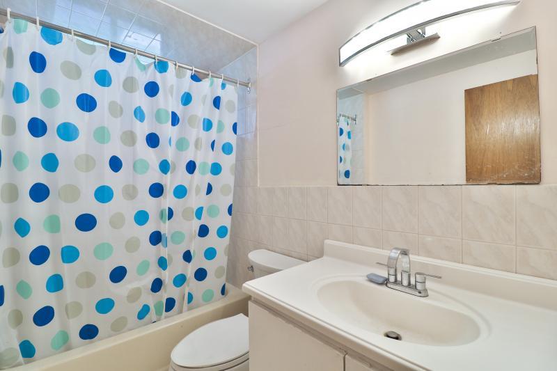 Lower Level Bathroom Near Kitchen