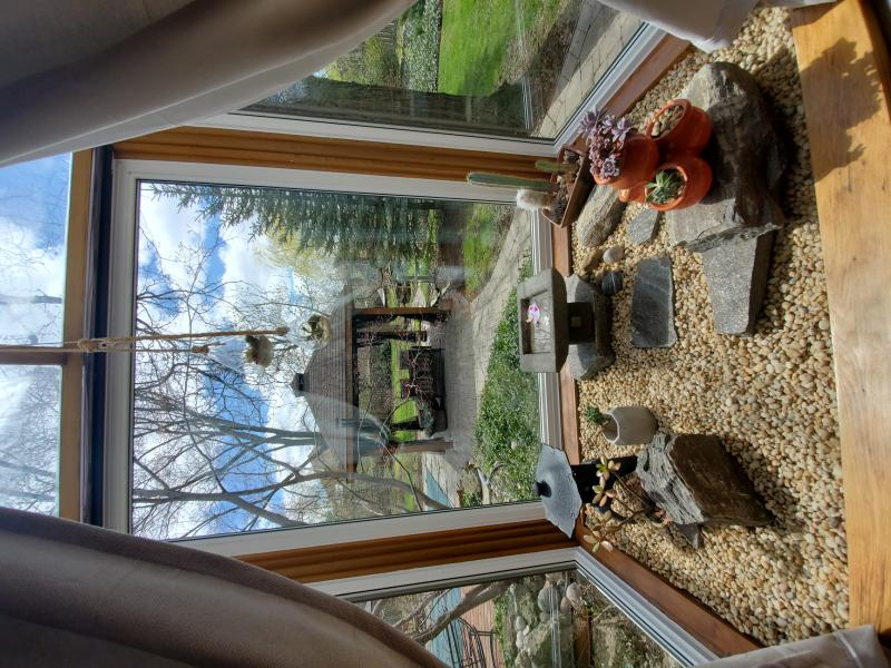 Living Room Greenhouse Window